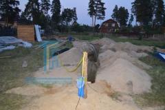 Строительство каркасной бани 5
