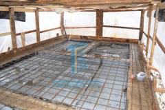 Строительство каркасной бани 17