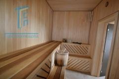 Строительство каркасной бани 27