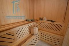 Строительство каркасной бани 43