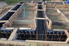 Строительство каркасной бани 1