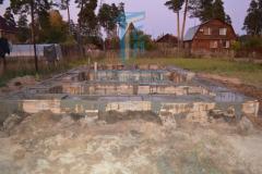 Строительство каркасной бани 9