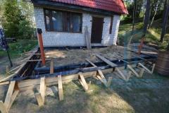 Строительство пристройки в Киржачском районе 2