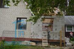 Строительство пристройки в Киржачском районе 14
